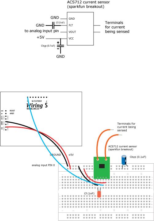 CurrentACS712 \ Learning \ WiringWiring