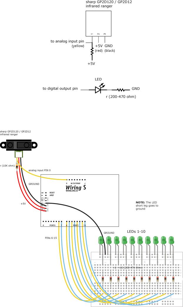 RangerLEDS \\ Learning \\ Wiring